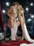 Heidi Klum in Bikini with Will Ferrell In S.I Swimsuit 08 Pictures