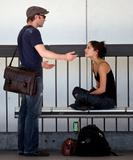 Kristen Kreuk Fights With Boyfriend Pictures