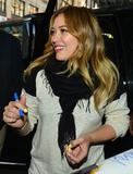 Hilary Duff @ Rachael Ray Show in New York City 05/02/2013