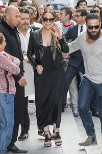 Mariah Carey - Leaving The Peninsula Hotel In Paris (6/10/15)