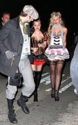 Aly & AJ Michalka @ Kate Hudson's Halloween party - October 29, 2011