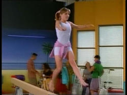 Amy Jo Johnson as Kimberly in Power Rangers