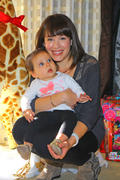 Marla Sokoloff- Family Pose with Santa Claus 11/18/12 (HQ)
