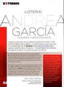 Andrea García Revista H Extremo Agosto 2011