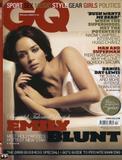 Emily Blunt  GQ Magazine  February 2008